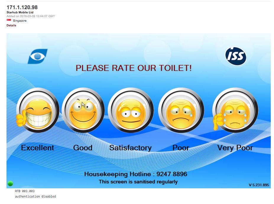 en Singapure puntuas el toilet